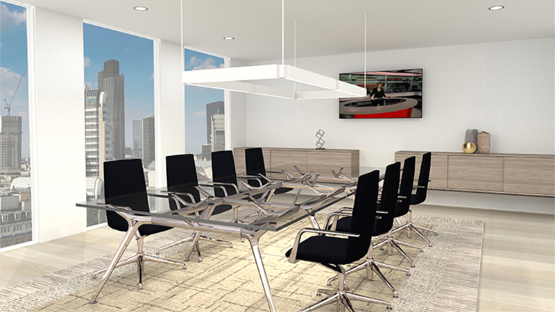 Glass Boardroom Rug