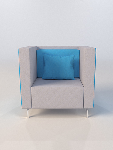 3d visitor chair