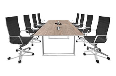 3d board room desk